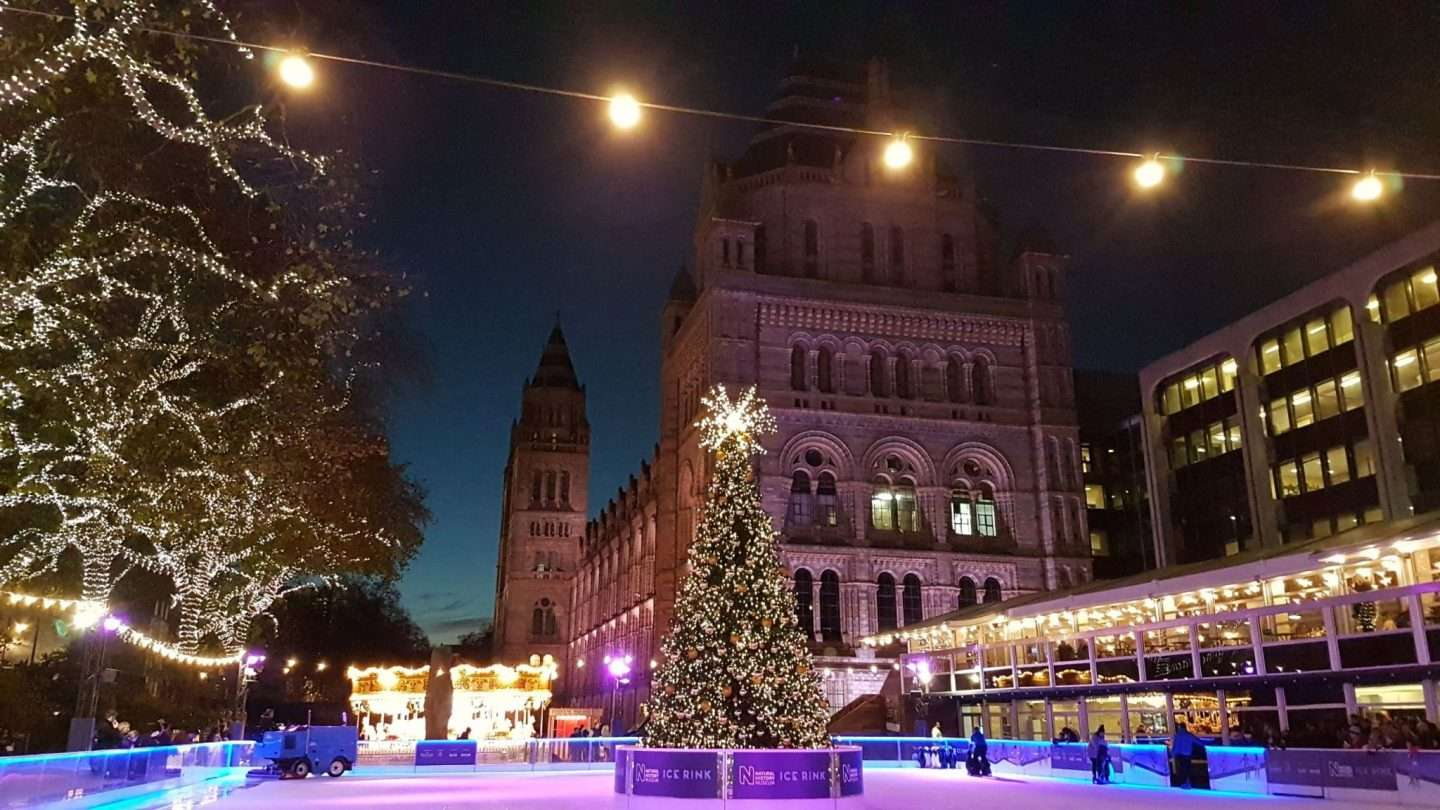 Where to go Ice Skating in London For Christmas