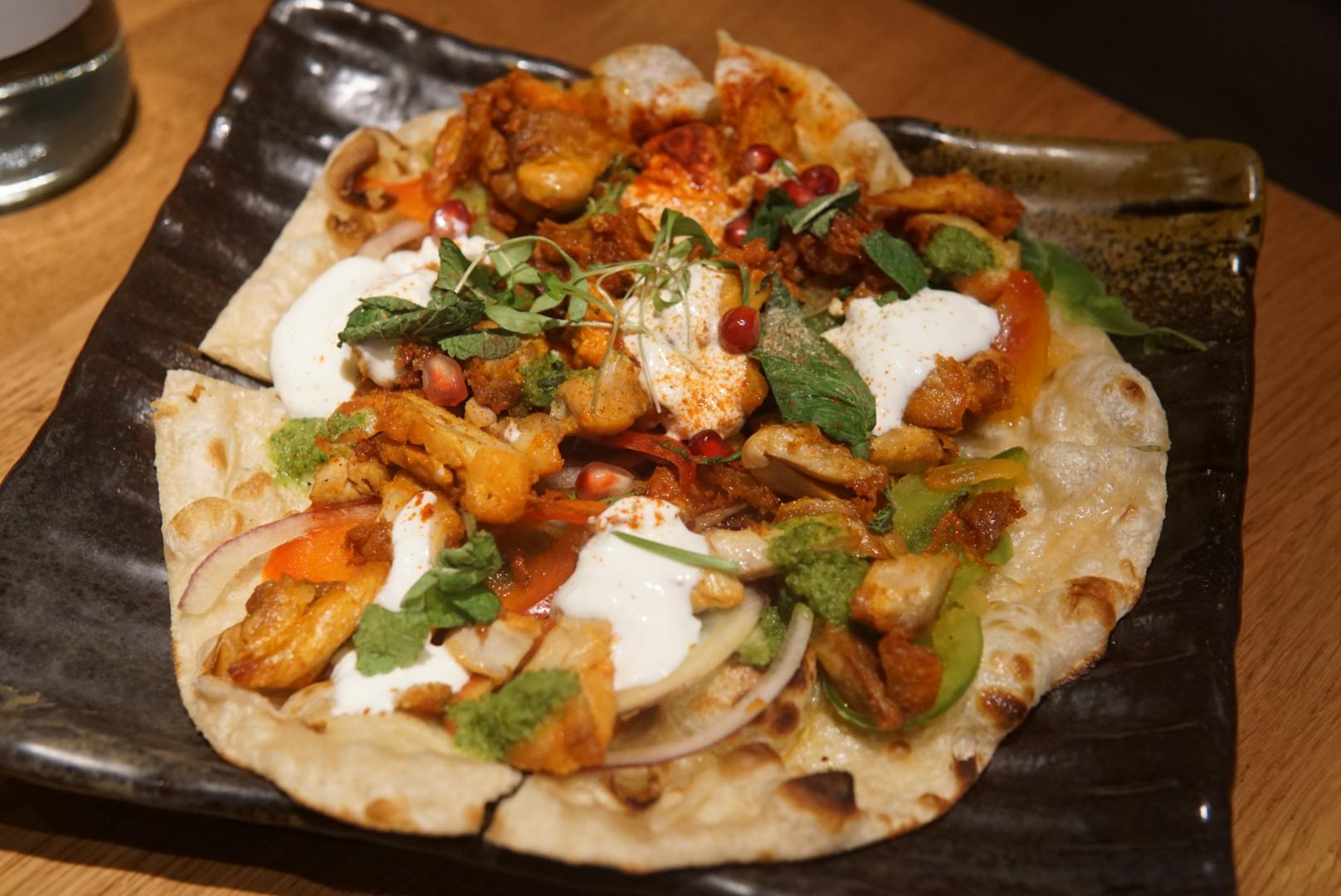 Chicken Tikka Naan