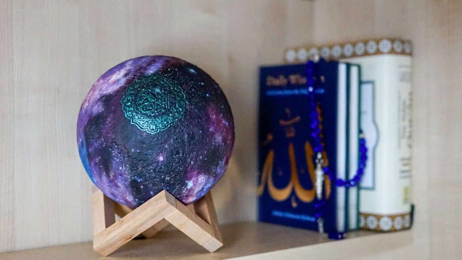 Galaxy Moon Lamp
