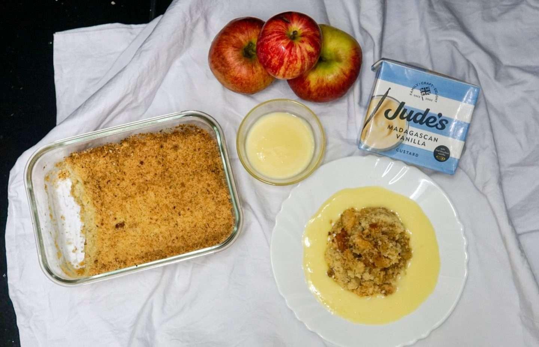 Apple Crumble Homemade – Dessert Recipe