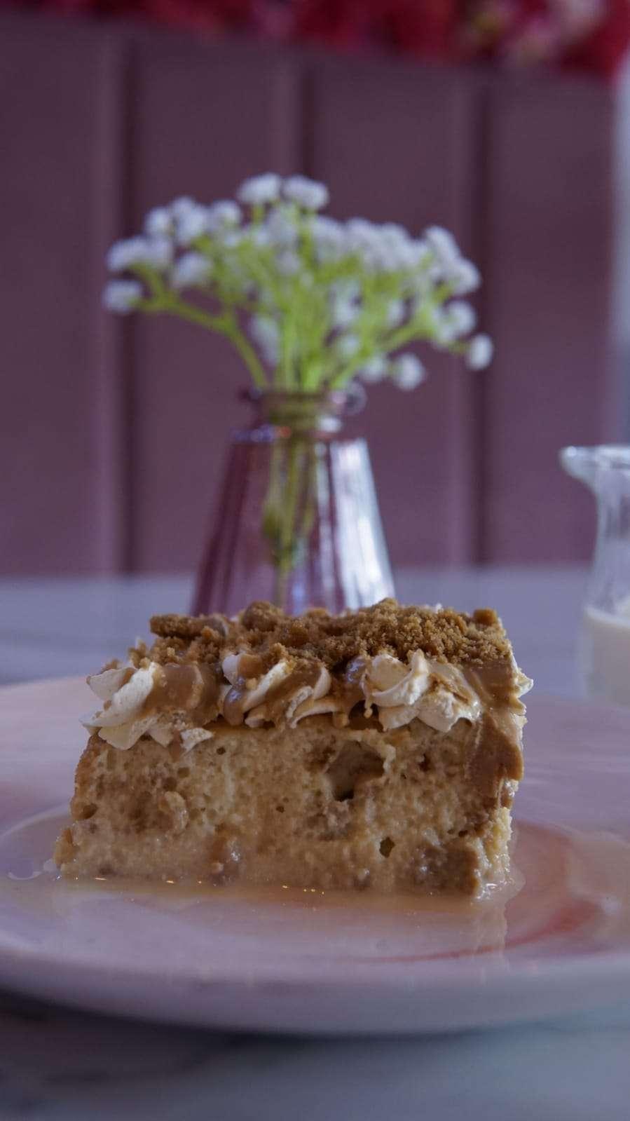 Biscoff Milk Cake