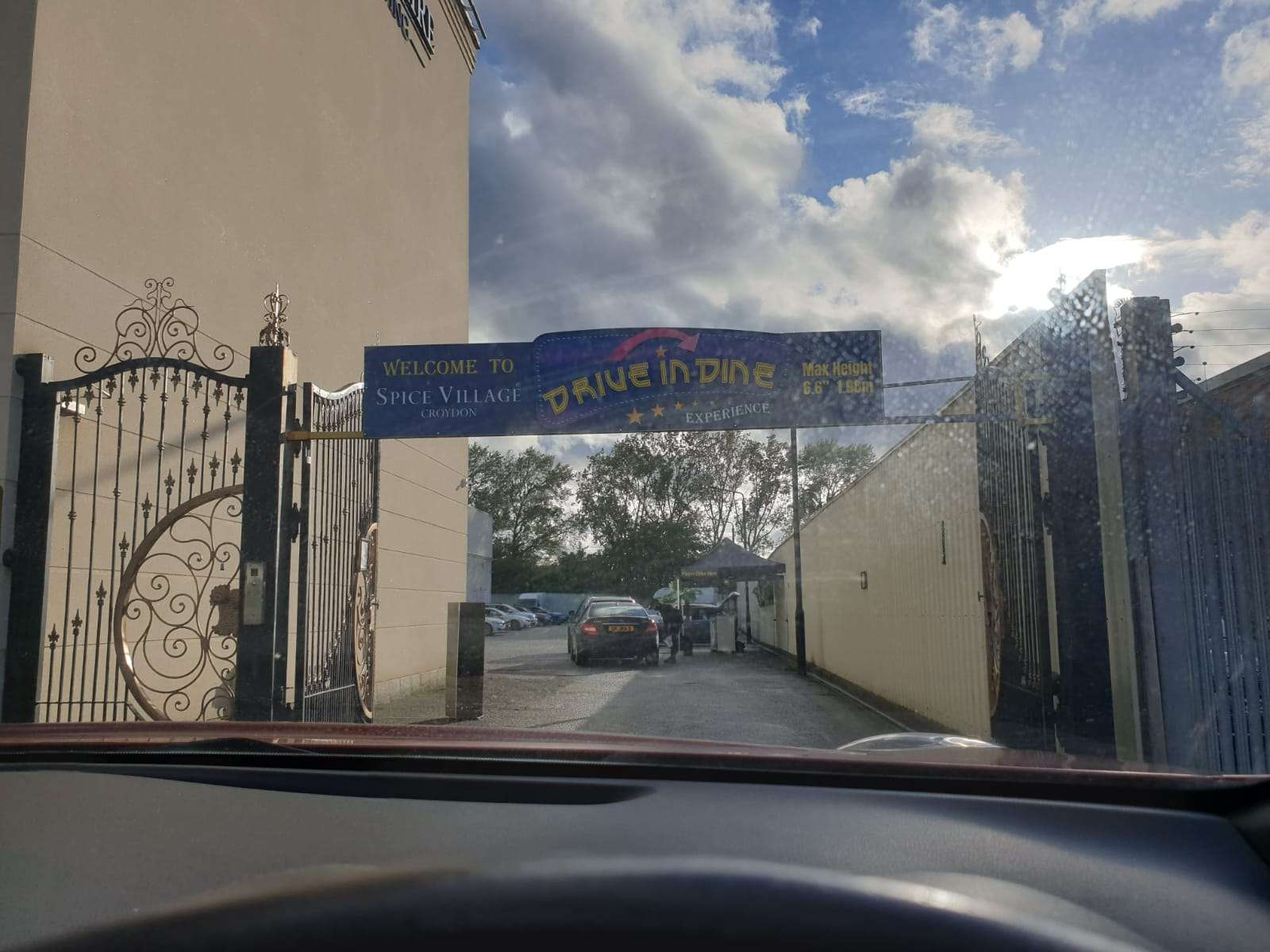 Drive-Thru Entrance in Croydon