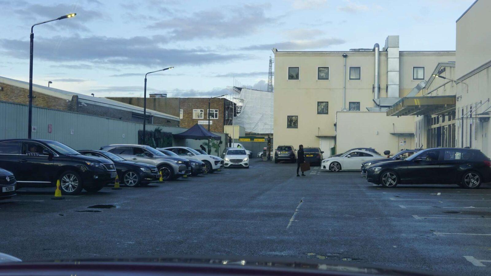 Car Park Area at Spice Village
