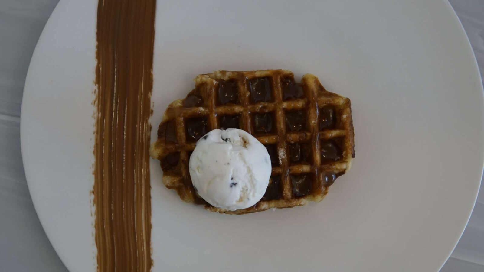 Overview of Belgian Waffle at Haute Dolci