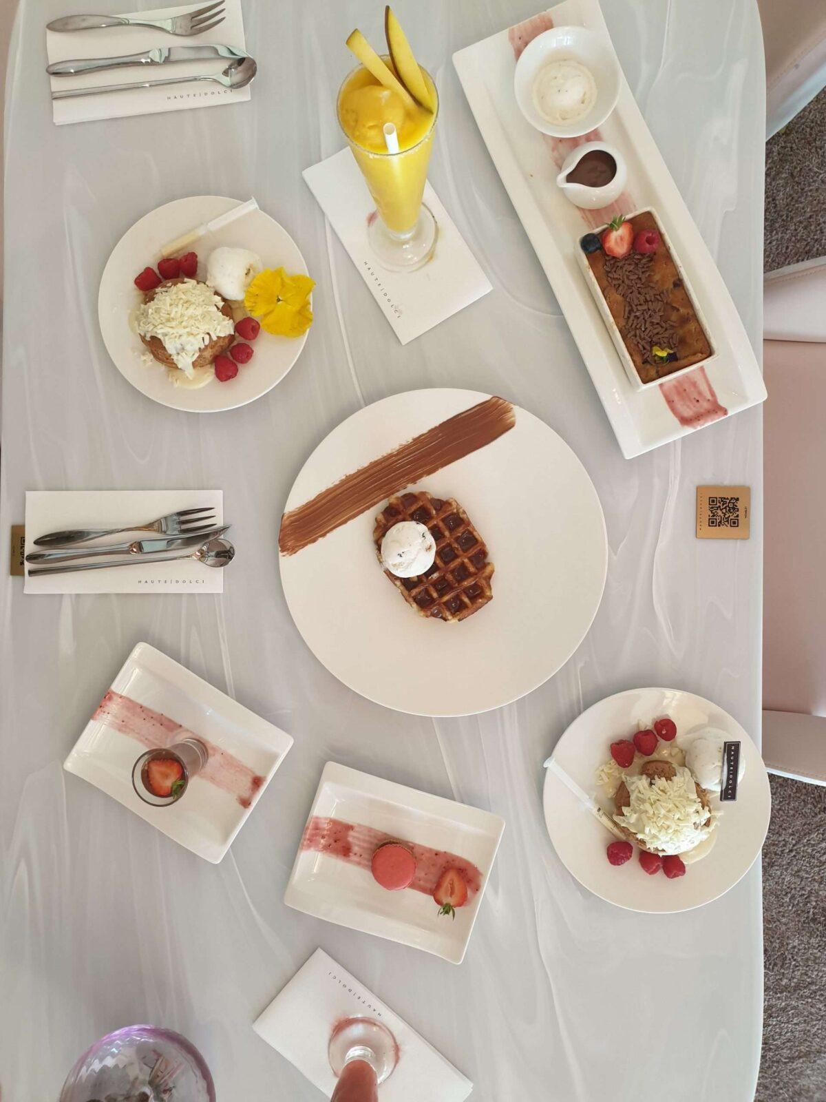 Haute Dolci's Desserts