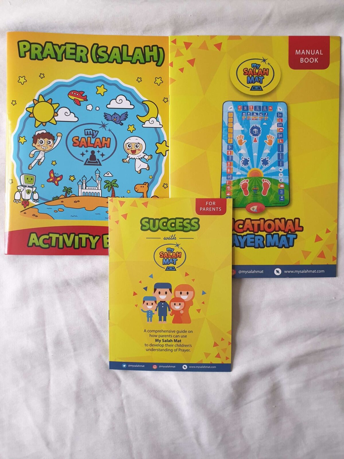 Activity Book, Manual Book and for Parents