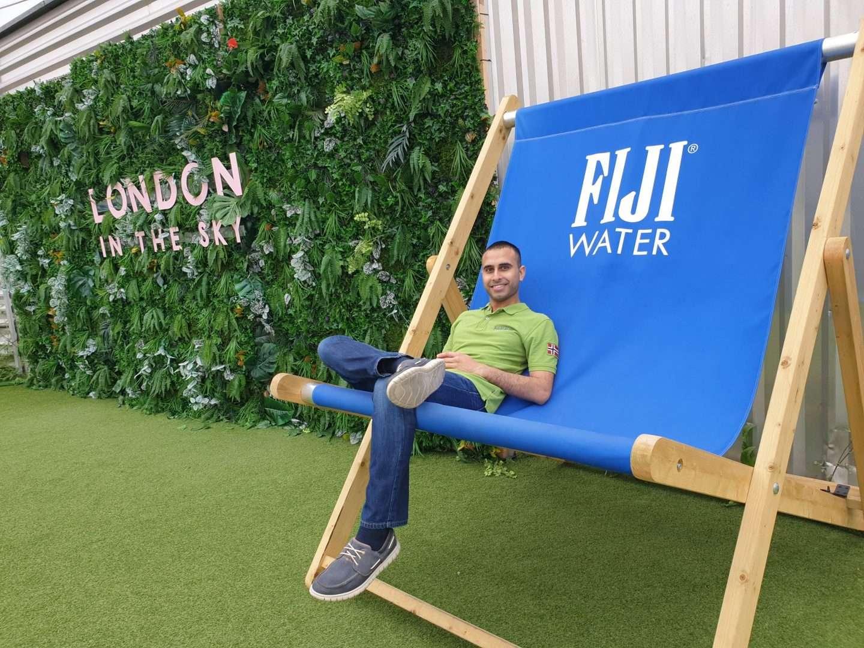 Fiji Water Beach Chair