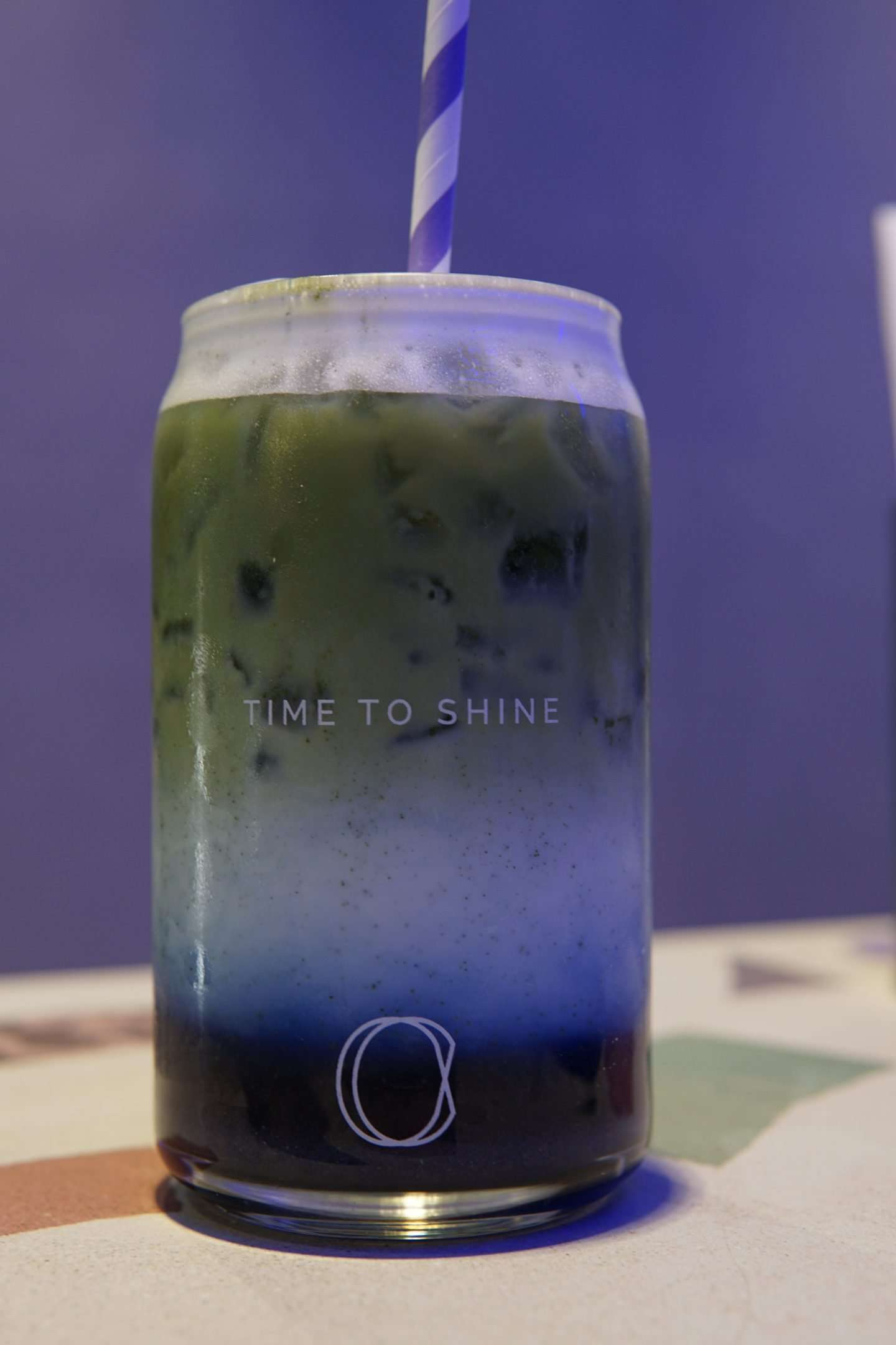 Crome's Matcha in Blue