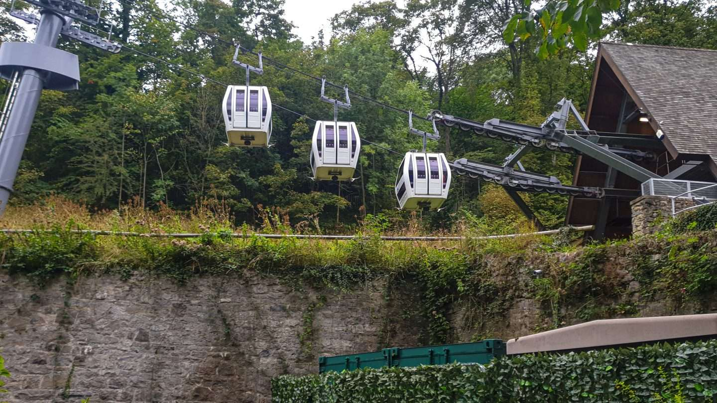 Cable Car at Heights of Abraham