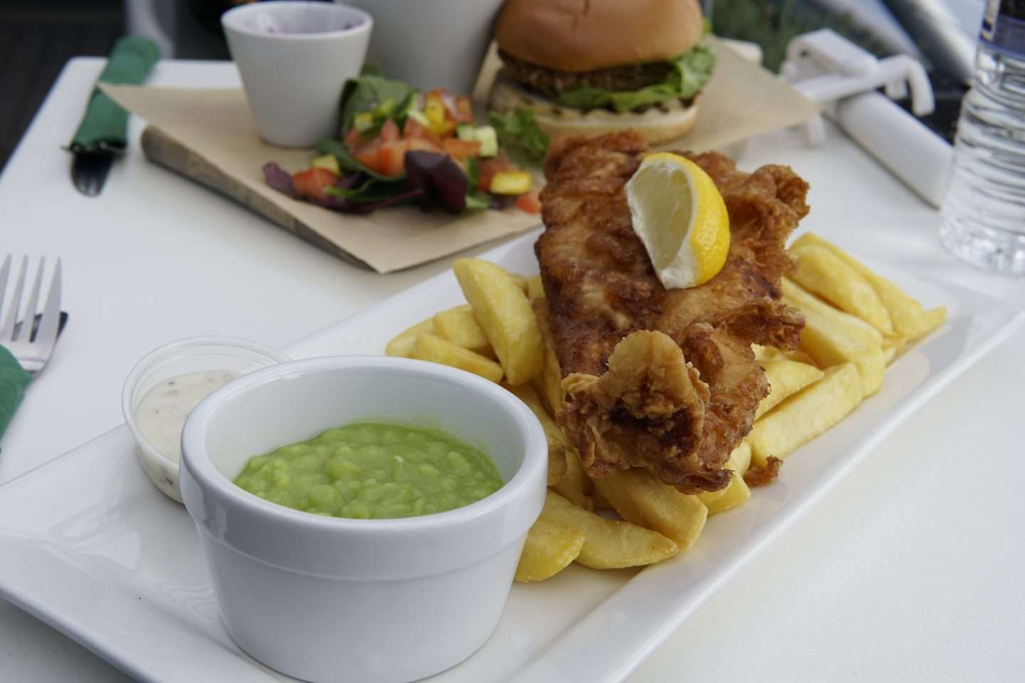 Non-Beer Battered Fish & Chips
